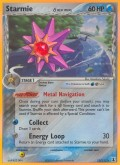 Starmie aus dem Set EX Delta Species