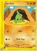 Larvitar aus dem Set E-Expedition
