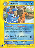 Azumarill aus dem Set E-Aquapolis