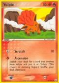 Vulpix aus dem Set EX Hidden Legends