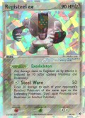 Registeel ex aus dem Set EX Hidden Legends