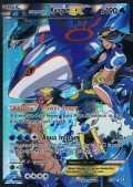 Team Aquas Kyogre EX aus dem Set XY Doppeltes Dilemma