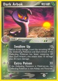 Dunkles Arbok aus dem Set EX Team Rocket Returns