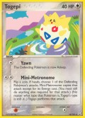 Togepi aus dem Set EX Team Rocket Returns
