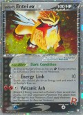 Rockets Entei ex aus dem Set EX Team Rocket Returns